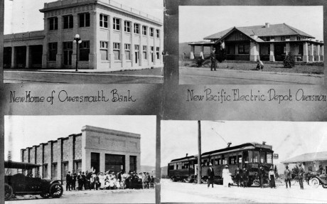 Four buildings in Canoga Park (formerly called Owensmouth, 1914).jpg